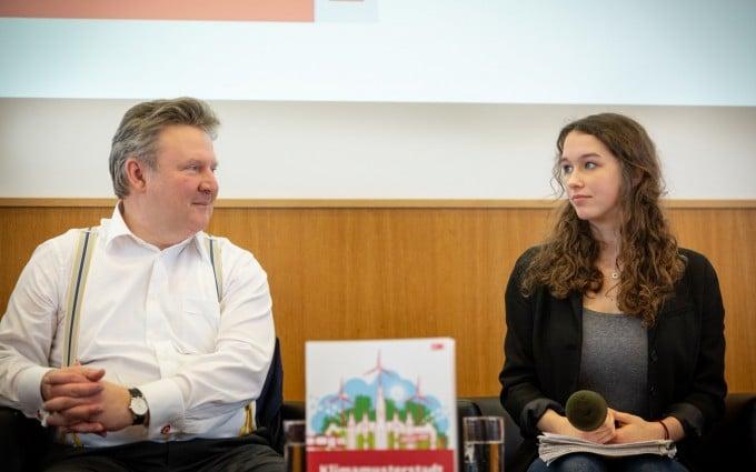 Lena Schilling, Fridays for Future Wien