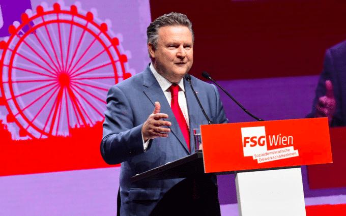 """Podcast """"Rede auf der Landeskonferenz der FSG Wien"""""""